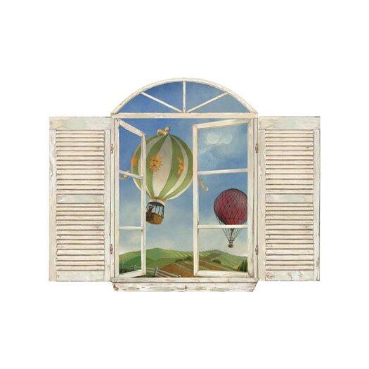 4 Walls Balloon Window Wall Decal