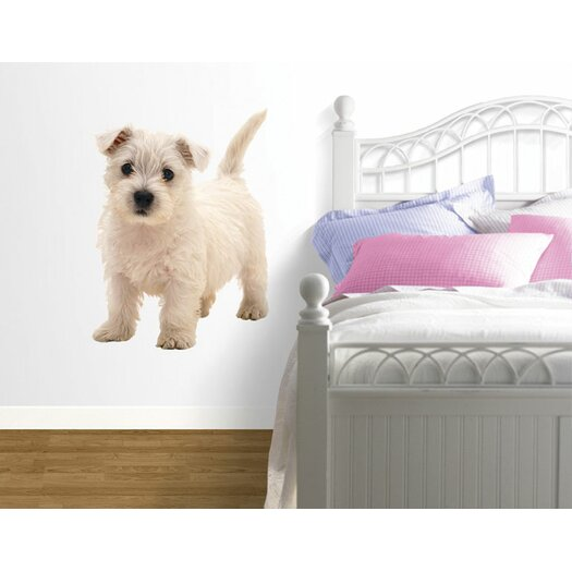 4 Walls Puppy Love West Highland Terrier Wall Decal