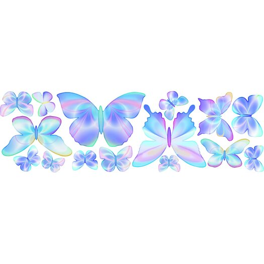 4 Walls Fluttering Butterfly Wall Decal