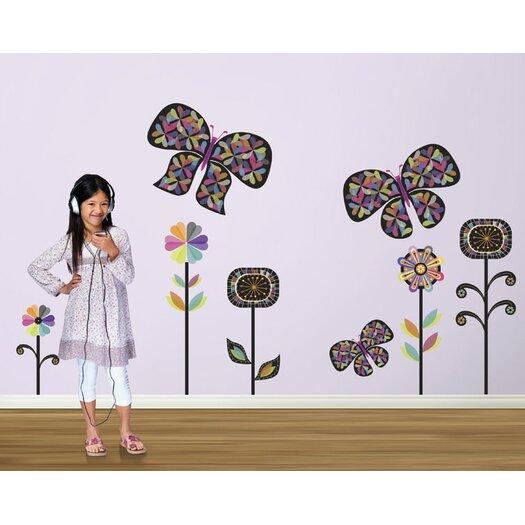 4 Walls Rainbow Garden Wall Decal