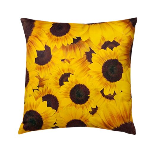 lava Sunflowers Pillow