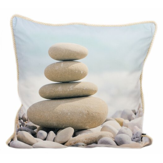 lava Meditation Feather Filled Pillow