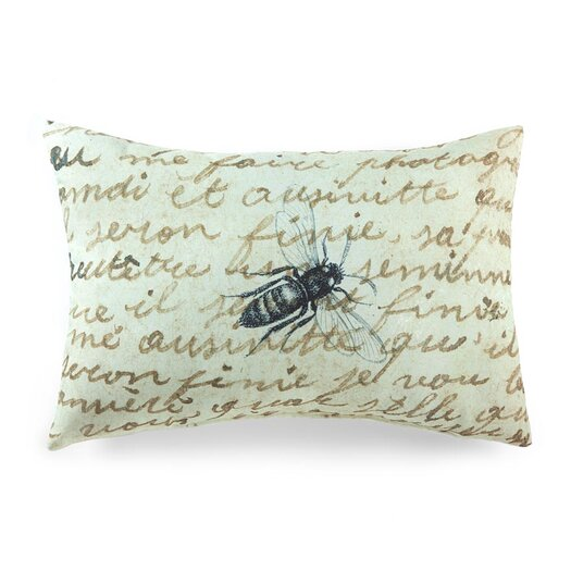 lava Lava Bee on Notes Pillow