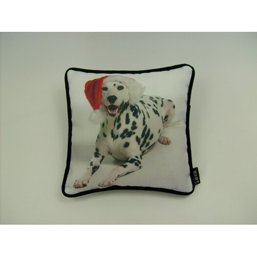 lava Lava Holiday Dalmation Pillow