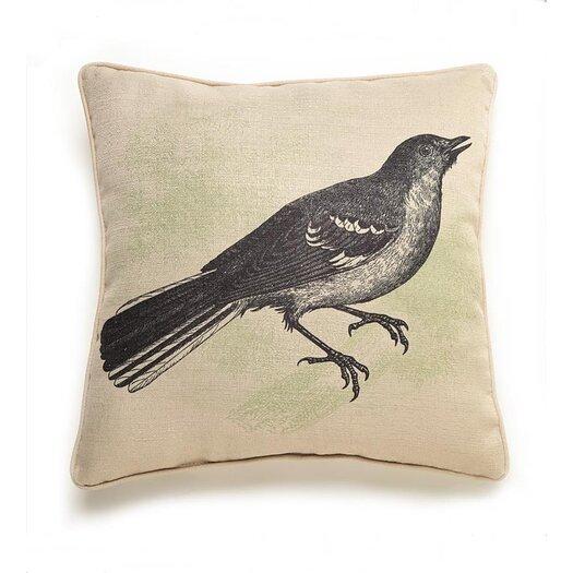 lava Lava Bird Etching Pillow