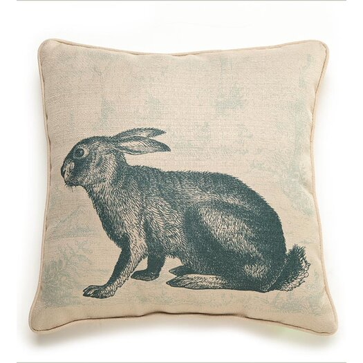 lava Lava Rabbit Etching Pillow