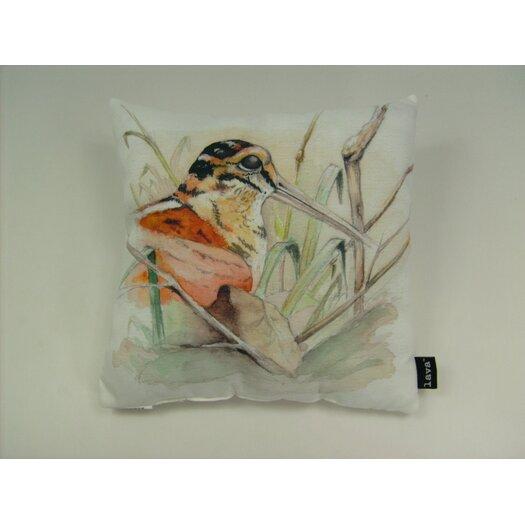 lava Lava Bird Marsh Watercolor Pillow