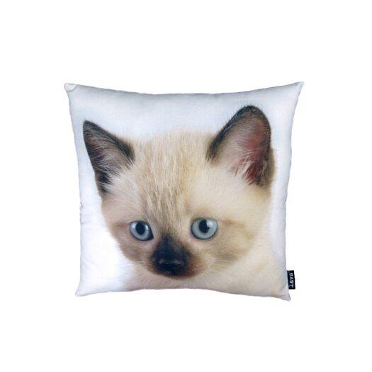 lava Siamese Cat Pillow