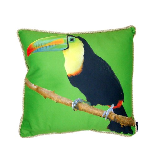 lava Toucan Pillow