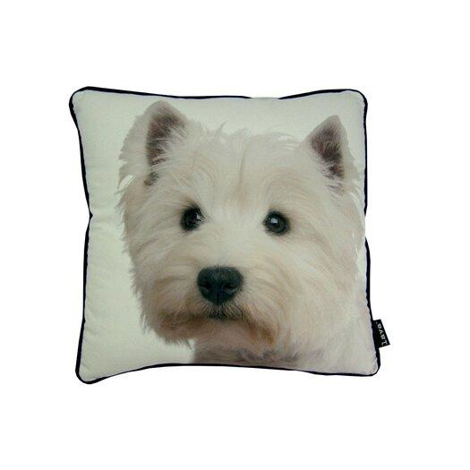 lava Westie Pillow
