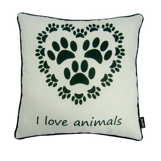 lava Love Animals Polyester Pillow