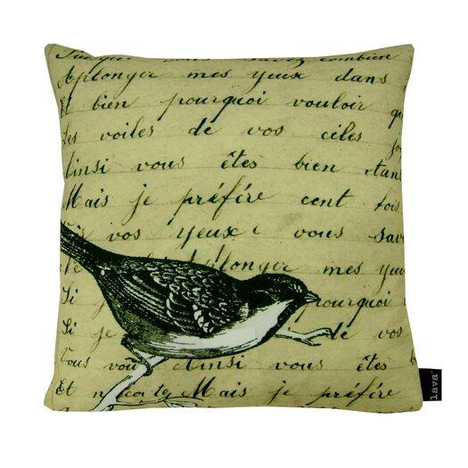 lava Bird Natural Polyester Pillow