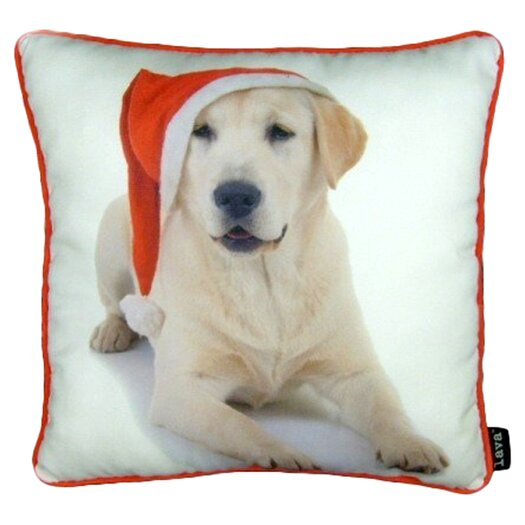 lava Holiday Lab Pillow