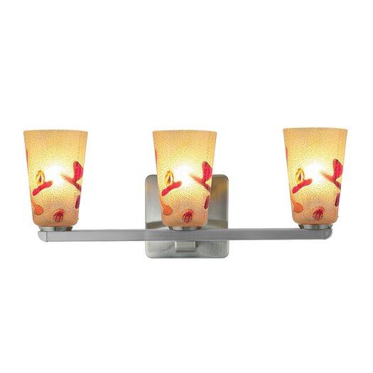 Oggetti Carnevale 3 Light Bathroom Strip