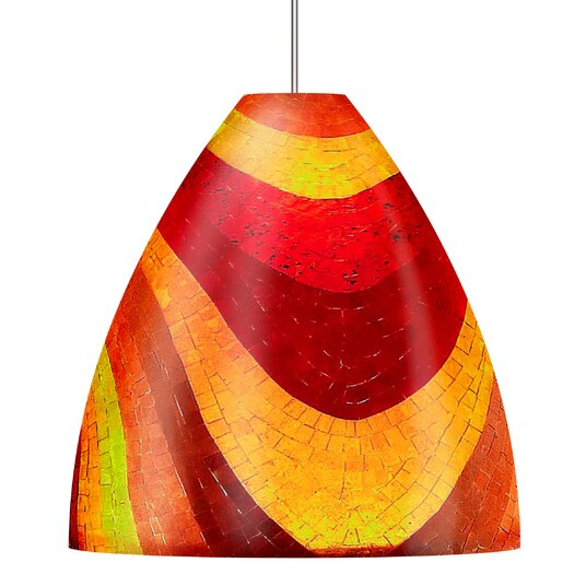 Mosaic Big Ben 1 Light Line Voltage Pendant
