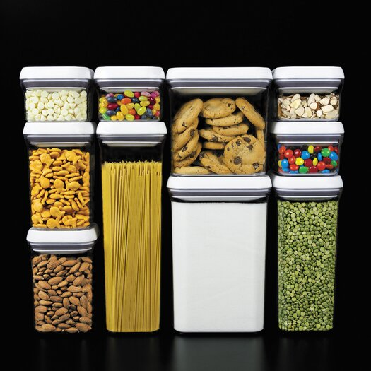 OXO 10 Piece Pop Container Set