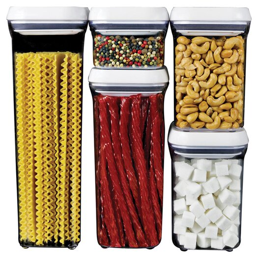 OXO 5 Piece Pop Container Set