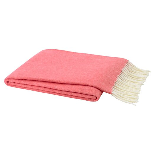 Lands Downunder Italian Herringbone Cotton Throw Blanket