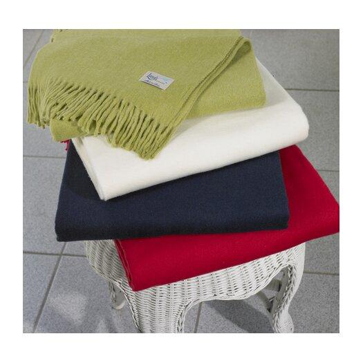 Lands Downunder Italian Solid Cotton/Acrylic Throw