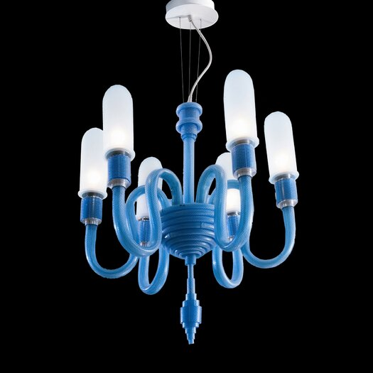 Facon De Venise Mamo 6 Light Bulbs Chandelier