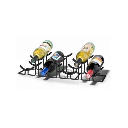 Spectrum Diversified Euro Hilo 7 Bottle Tabletop Wine Rack