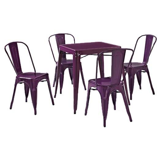 Crosley Amelia 5 Piece Café Dining Set