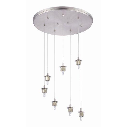 Philips Forecast Lighting Sparkle 7 Light Pendant