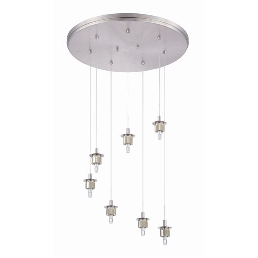 Philips Forecast Lighting Sparkle 7 Light Pendant