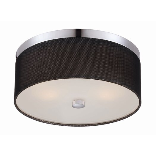 Philips Forecast Lighting Fishnet 2 Light Flush Mount