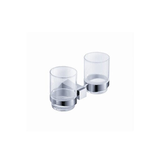 Fresca Ellite Double Tumbler Holder