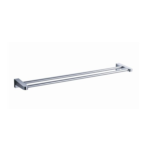 "Fresca Generoso 19.5"" Wall Mounted Double Towel Bar"