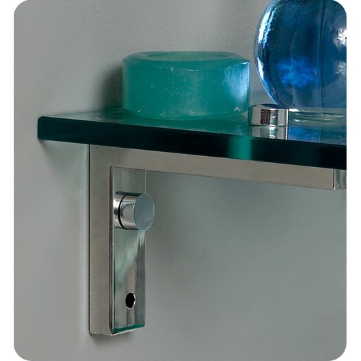 "Fresca Vetro Ovale 24"" Modern Bathroom Vanity Set with Single Sink"