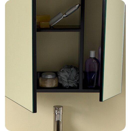 "Fresca Stella 24"" Single Modella Modern Bathroom Vanity Set"