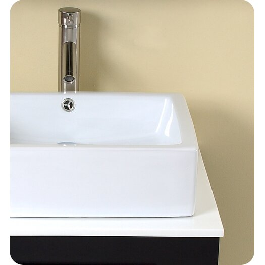"Fresca Stella 23.5"" Modella Modern Bathroom Vanity Set with Medicine Cabinet"