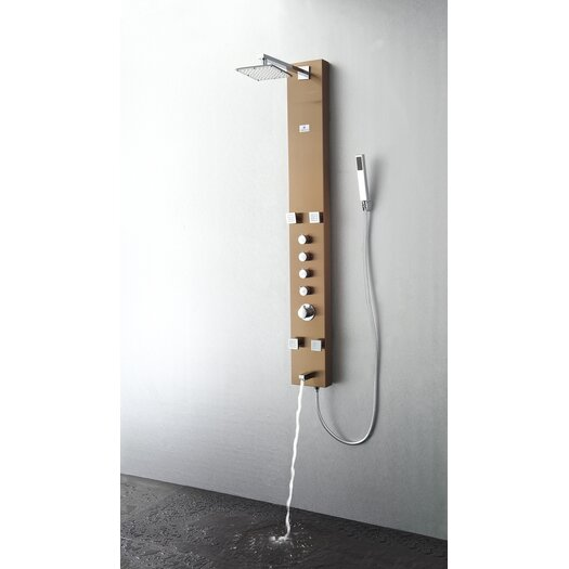 Fresca Pavia Thermostatic Shower Panel