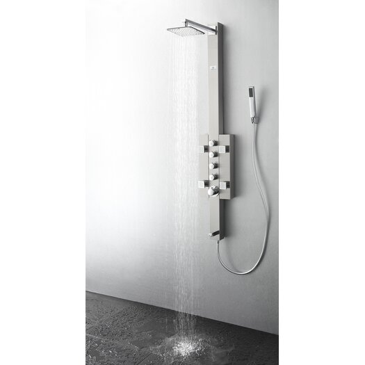 Fresca Lecco Thermostatic Shower Panel