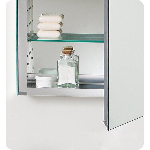 "Fresca 19.88"" x 26.13"" Medicine Cabinet"