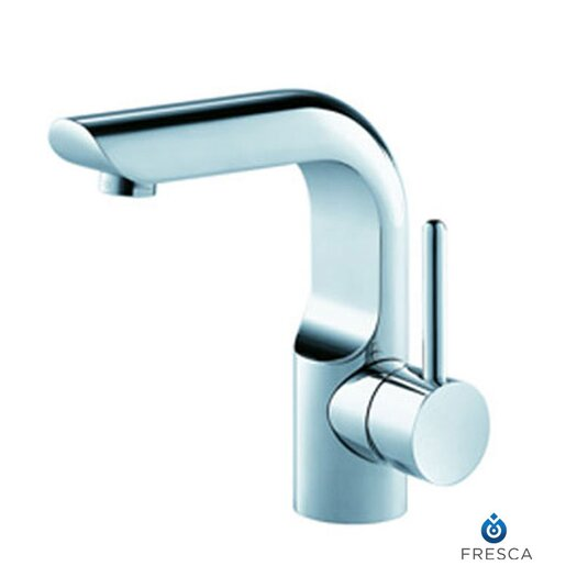Fresca Platinum Mazaro Single Handle Deck Mount Vanity Faucet