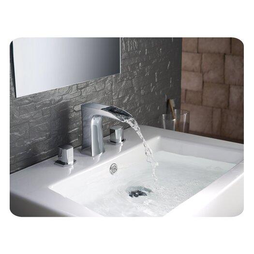 Fresca Fortore Double Handle Widespread Vanity Faucet