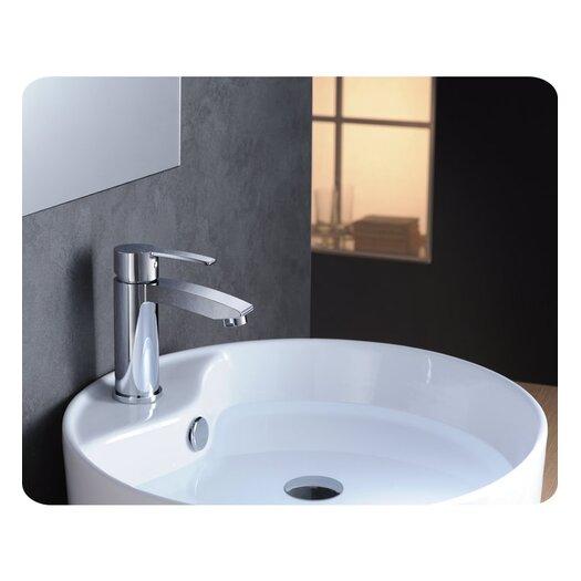 Fresca Livenza Single Handle Deck Mount Vanity Faucet