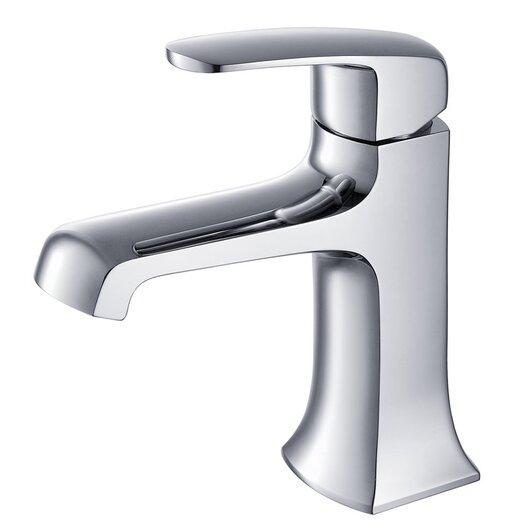 Fresca Verdura Single Handle Deck Mount Vanity Faucet