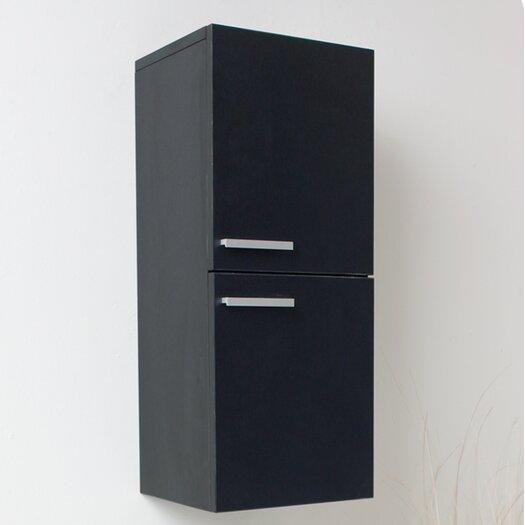 """Fresca 12.63"""" x 27.5"""" Bathroom Linen Side Cabinet"""