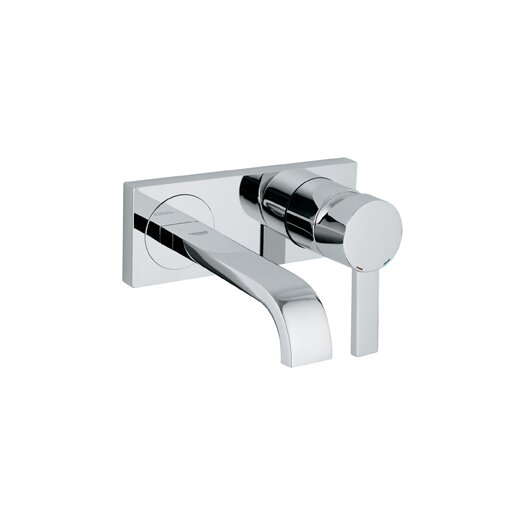 Grohe Allure Wall Mounted Bathroom Faucet with Single Handle