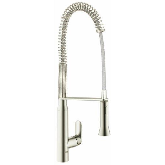 Grohe K7 Semi-Pro One Handle Single Hole Kitchen Faucet