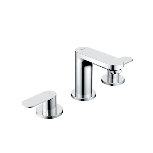 Grohe Eurosmart Cosmopolitan Widespread Bathroom Faucet with Double Lever Handles