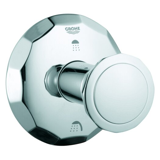 Grohe Kensington 3 Port Diverter Trim with Round Handle