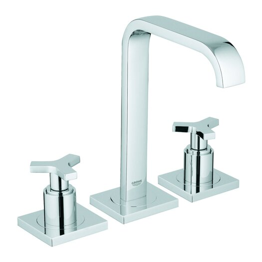 Grohe Allure Widespread Bathroom Faucet with Double Cross Handles