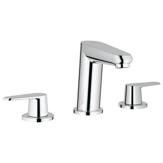 Grohe Eurodisc Widespread Bathroom Sink with Double Lever Handles
