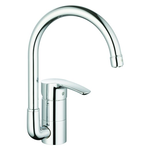 Grohe Eurostyle One Handle Single Hole Kitchen Faucet with Watercare