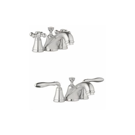 Grohe Seabury Widespread Bathroom Faucet with Double Lever Handles